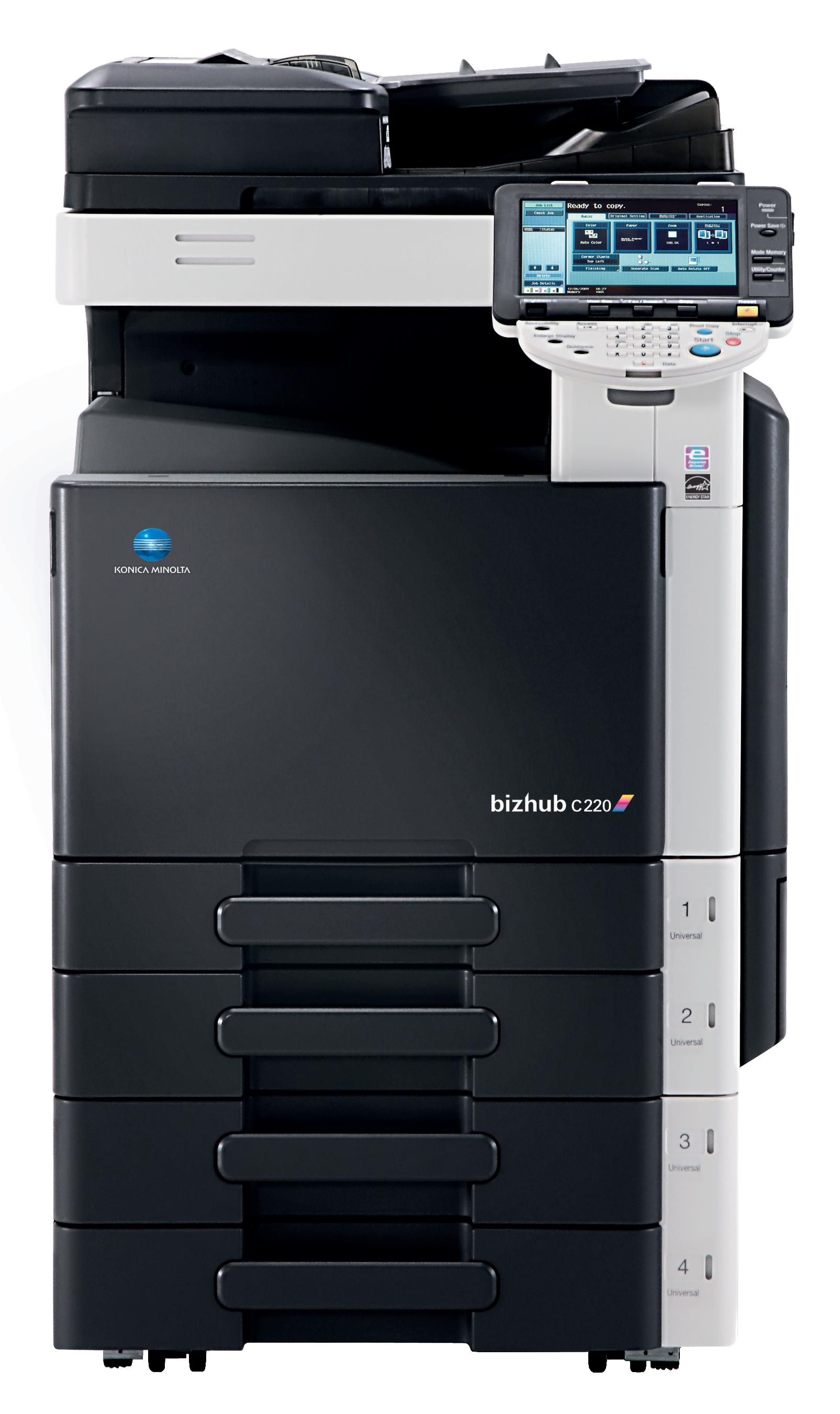 second-user-konica-minolta-bizhub-c220